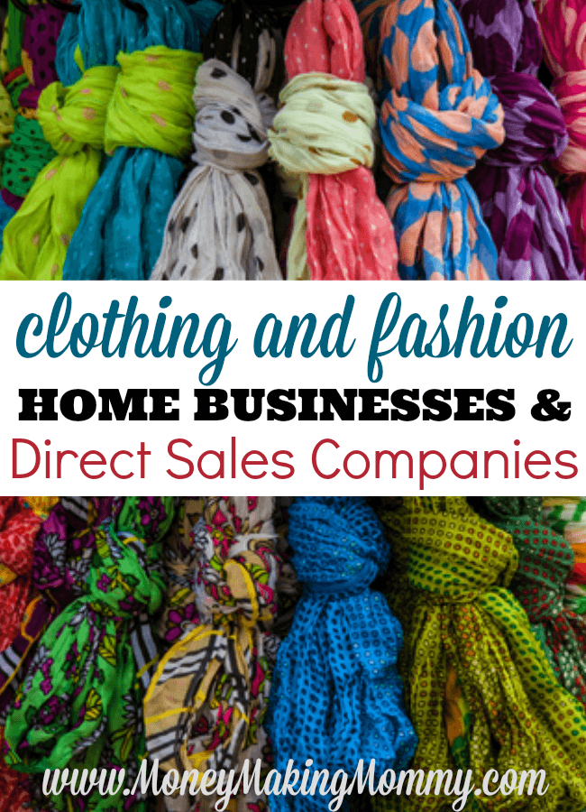 Fashion and Clothing Direct Sales Companies