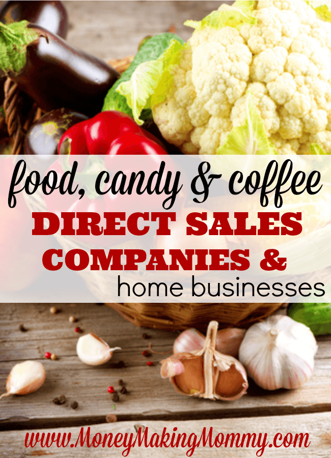 Food, Coffee & Candy Direct Sales Companies