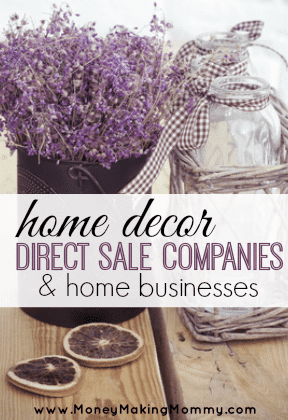 List of Home Decor Direct Sales Companies