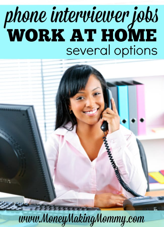 home based telephone interviewer jobs
