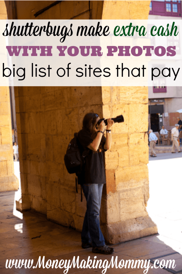 Make Extra Cash by Selling Photos Online