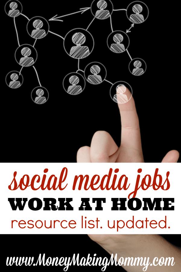 Social Media Jobs at Home
