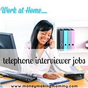 telephone interviewer jobs