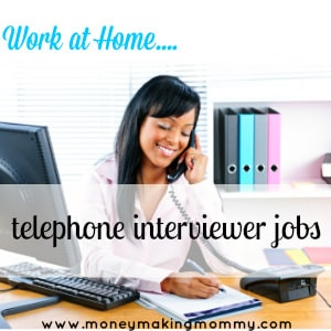 telephone interviewer jobs