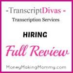 Transcript Divas is Hiring Transcribers