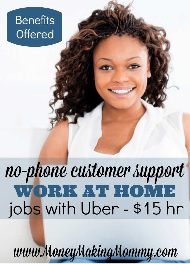 Work at Home Jobs Offered by Uber