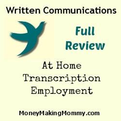 written-communications