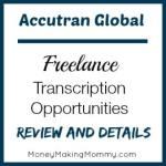 Accutran Global – Freelance Transcription Work