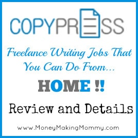 CopyPress Freelance Writing