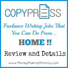 CopyPress Freelance Writing