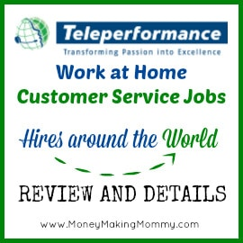 teleperformance hiring work at home customer service jobs