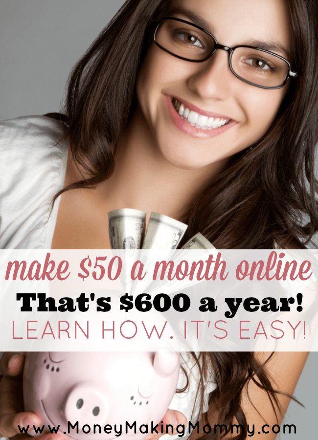 Make Easy Money Online. $50 a month doing super simple tasks.