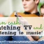 Paid to Watch TV (and Listen to Music) with Viggle