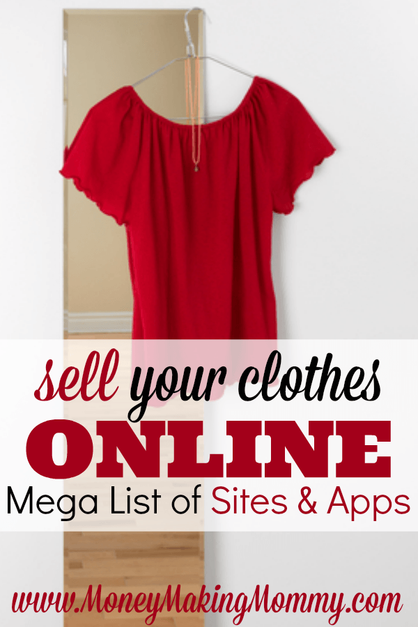 List of Apps and Sites to Sell Your Clothes