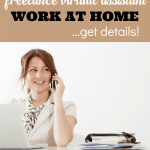 Be a Freelance Virtual Assistant – Flexible Work at Home