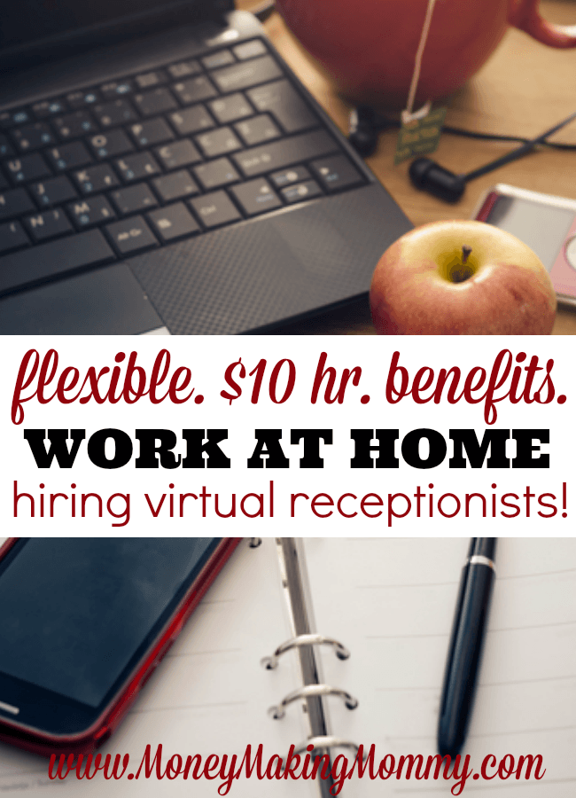 Hiring Virtual Receptionists. Work at Home.