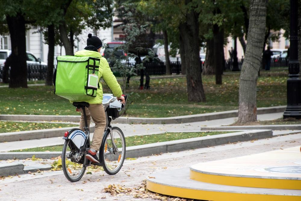 Gig Economy Job Delivering Food