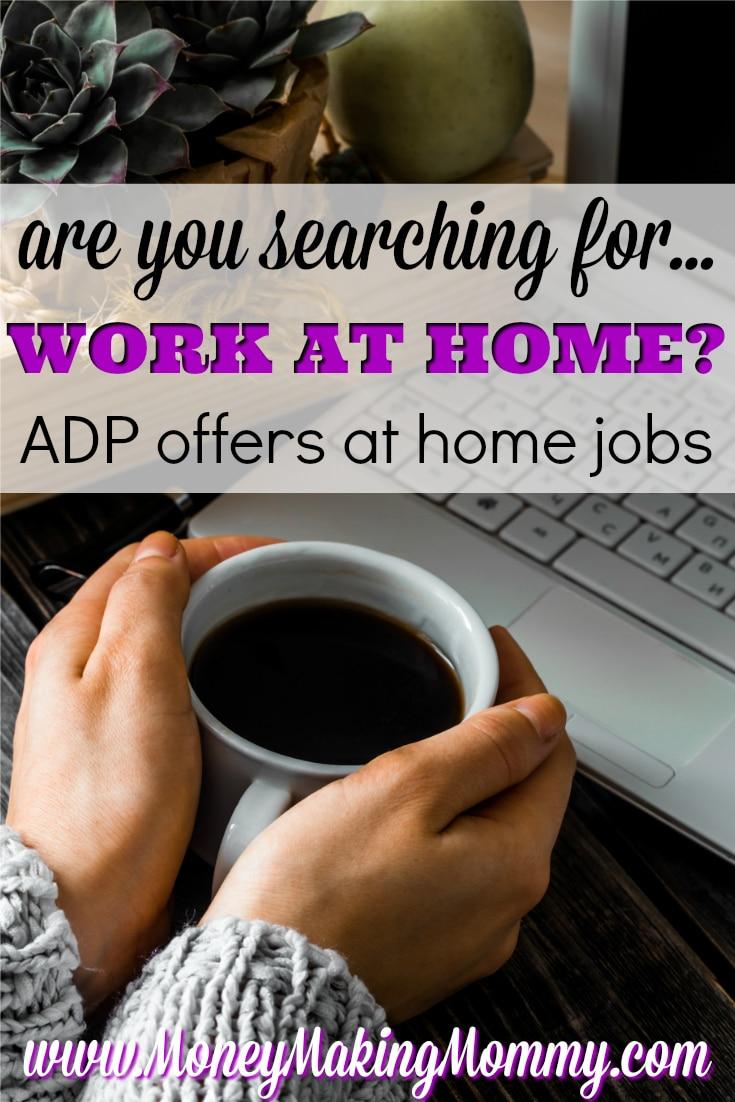 ADP at Home Jobs
