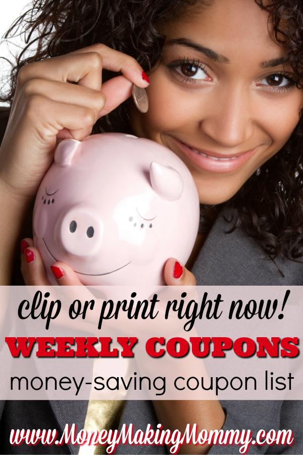Coupon List - Weekly Savings