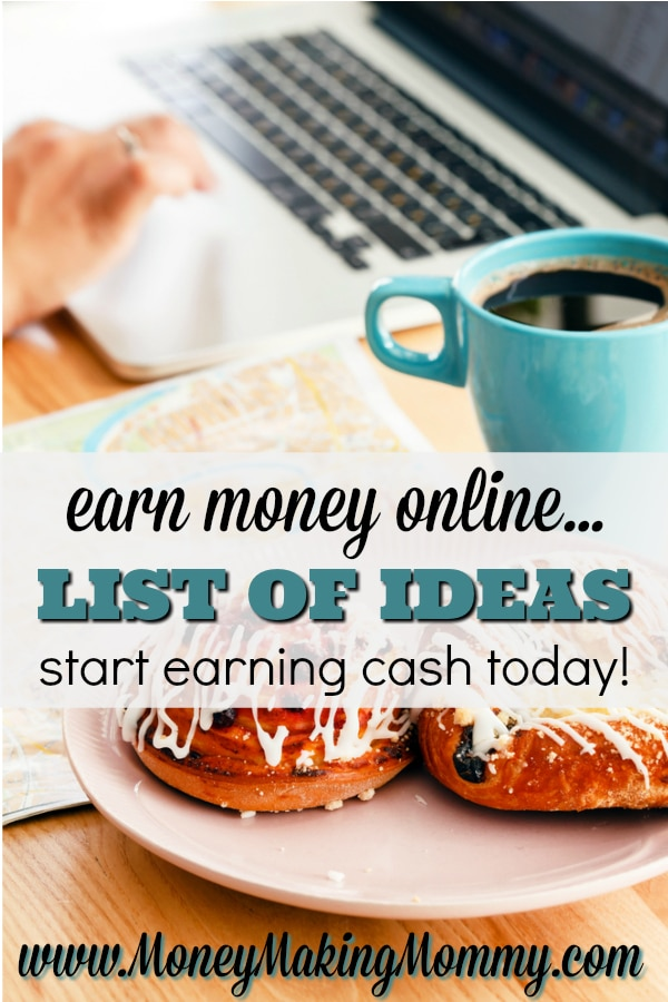 Earn Money Online - List of Ways