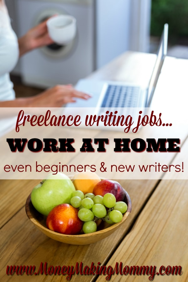 Freelance writing jobs for beginners and new writers!