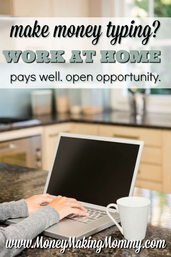 Make Money Typing From Home
