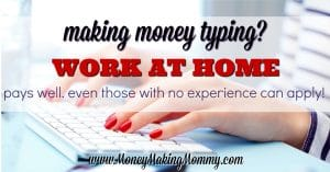 Make Money Typing- Even Without Experience