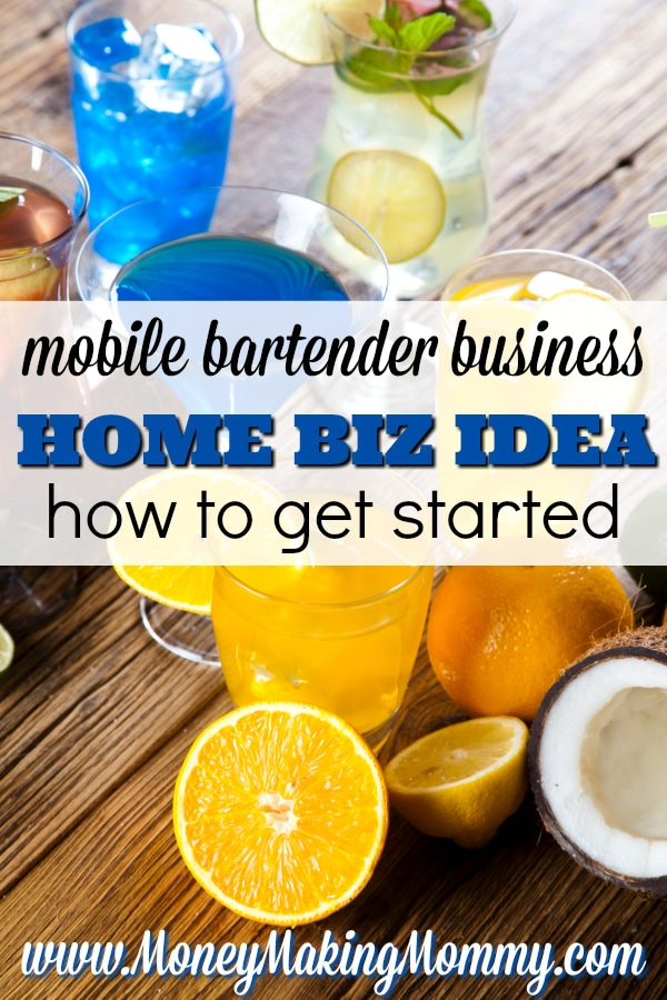 Start A Mobile Bartender Business