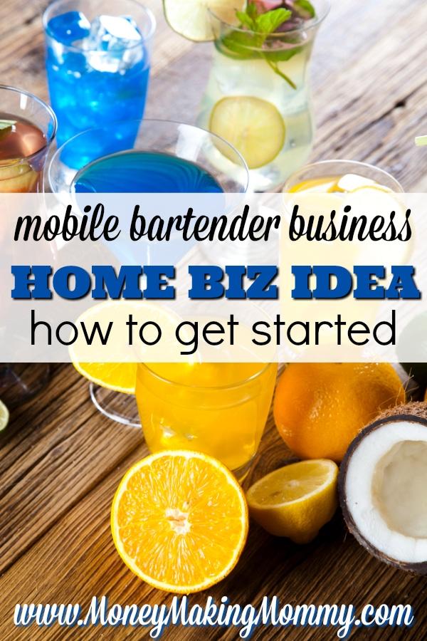Start A Mobile Bartender Business