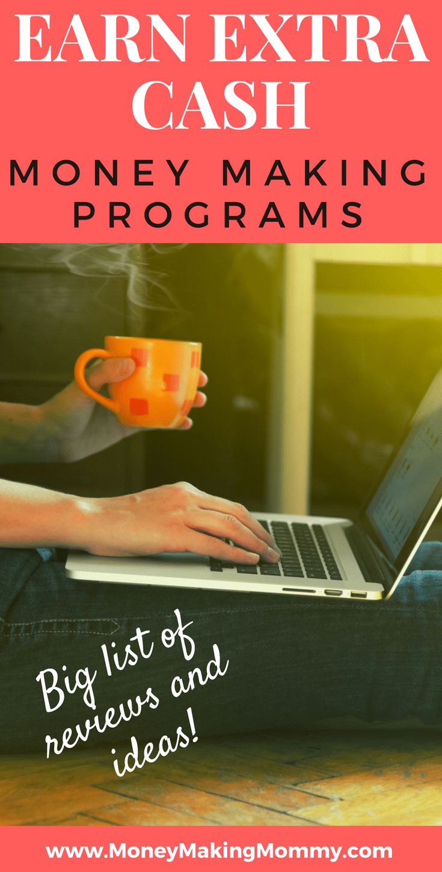 Money Making Programs - Big List of Reviews