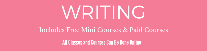 Online Writing Courses for Writers