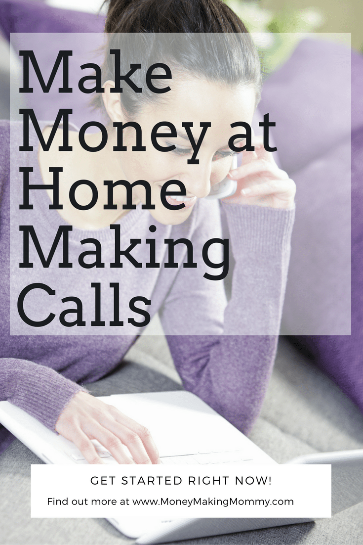 Making Money at Home Making Calls Upcall
