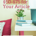 Freelance Writing Gig - $50-$75