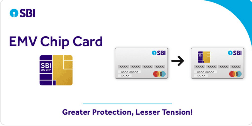 sbi chip debit card apply online