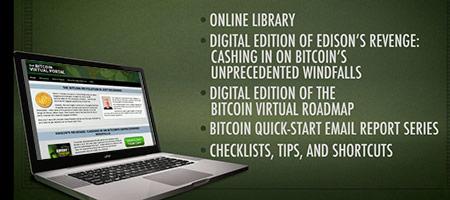 Bitcoin virtual portal