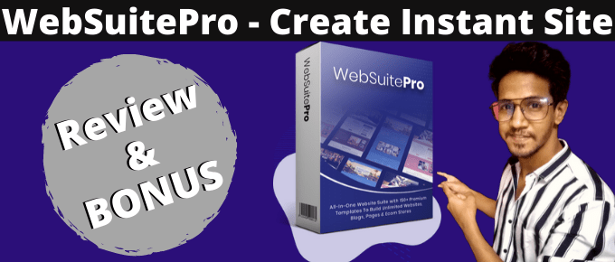 WebSuitePro Review + OTO's & Discounts + Exclusive Bonus