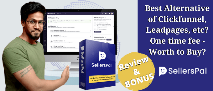 SellersPal Review – Better Funnel Builder at 1-time Price?