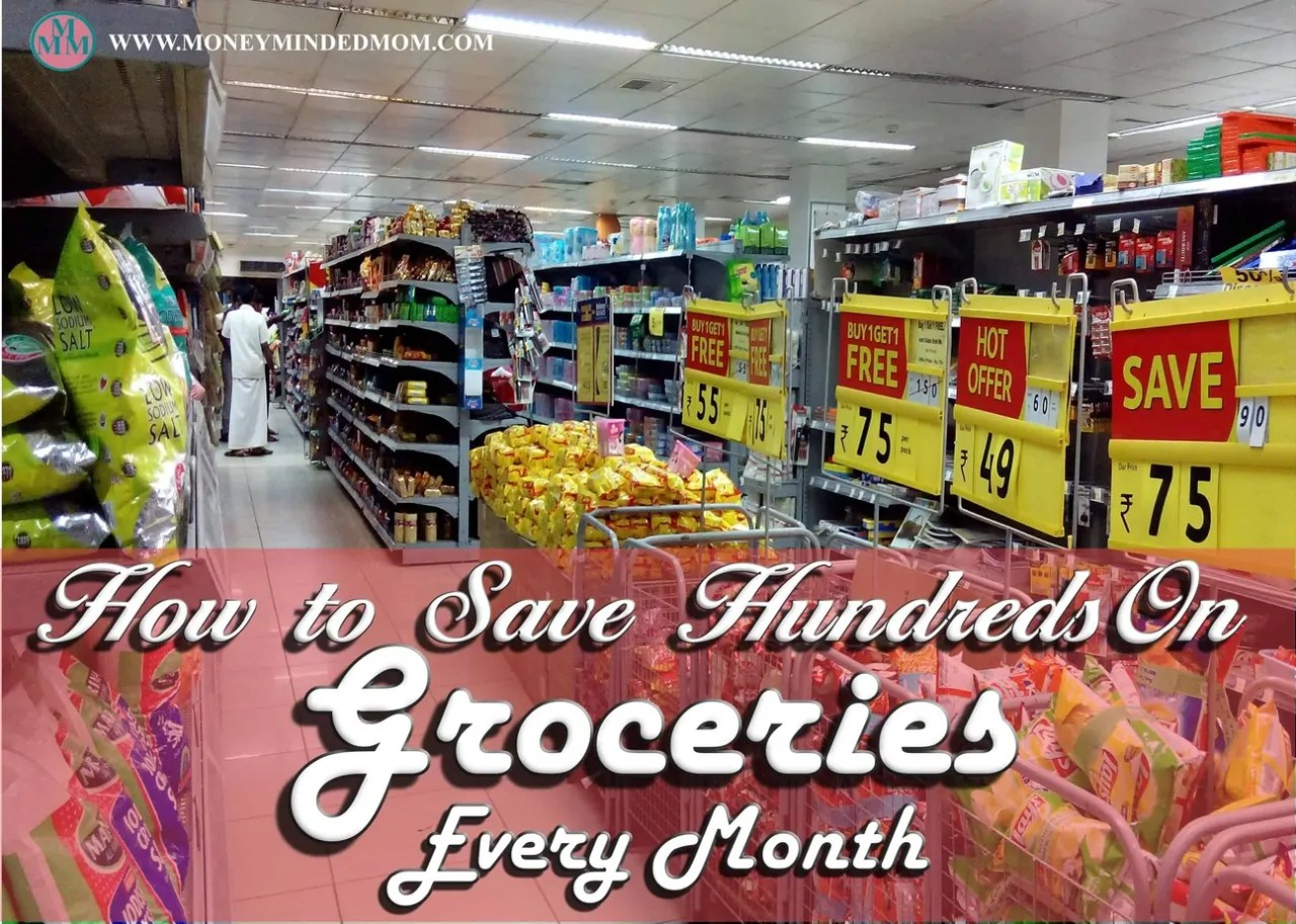 Save Hundreds of Dollars On Groceries Each Month - Saving money on groceries is one of the easiest ways to cut expenses, it just take a bit of planning. The little time you spend planning could add up to hundreds of dollars save each month. Read on to learn how.