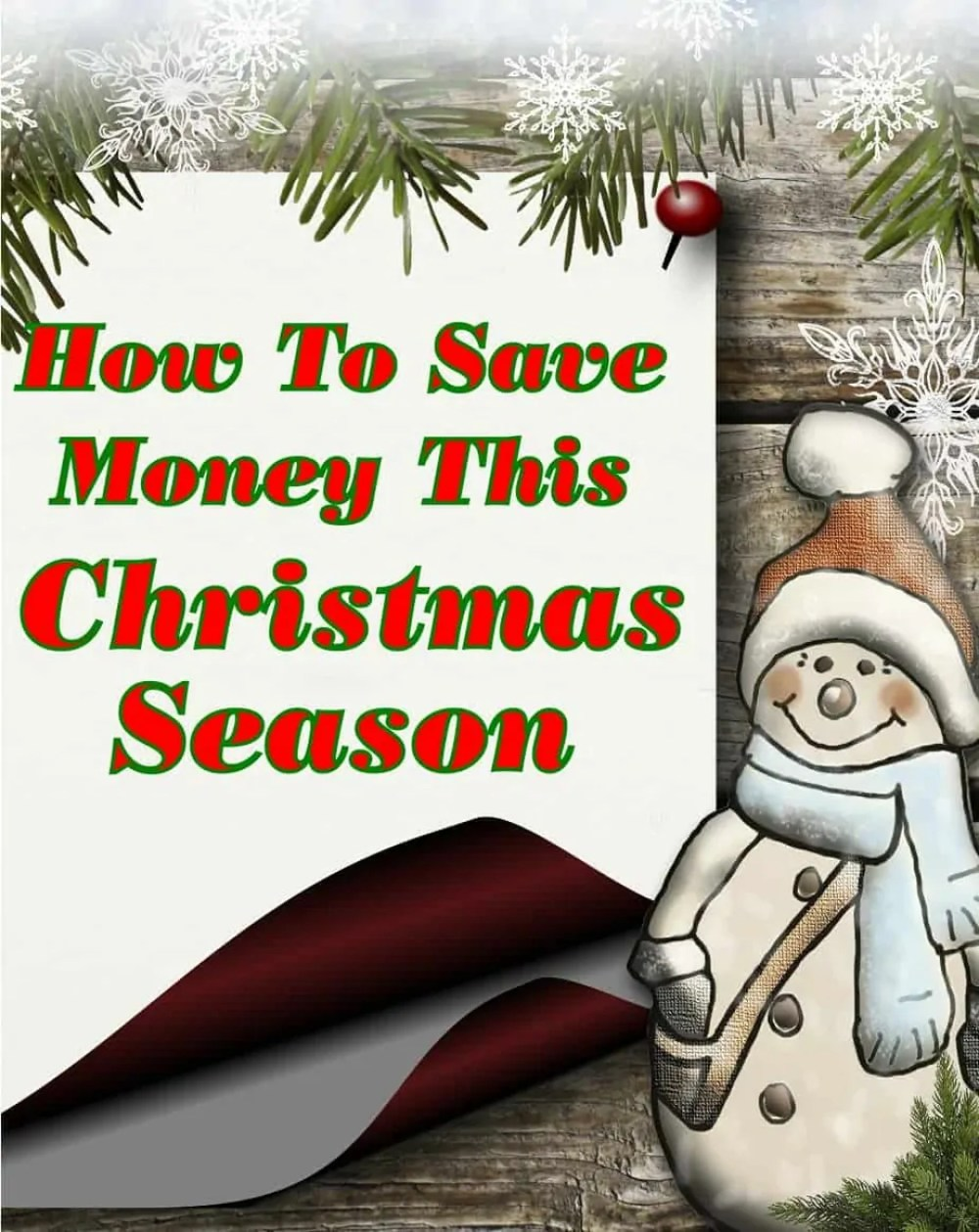 How to Save Money This Christmas Season