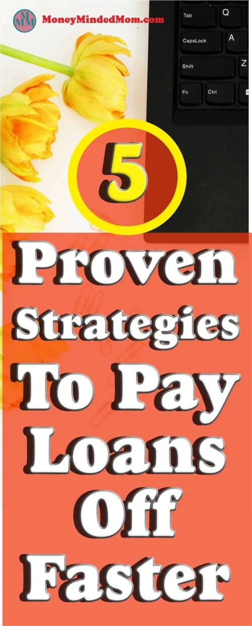 Debt Free ~ Simple Strategies To Pay Loans Off Faster ~ No body like to have to give the bank their hard earned money month after month. I'll share with you 5 proven strategies to help you pay loans off faster and keep more of your hard earned money in your pockets
