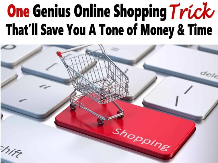 One Genius Trick To Saving Tons of Money Online Shopping. Check out my simple online shopping tricks that will save you a ton of money every year and a bunch of time and frustration too. saving money   money saving tips   money   finance   budget   shopping   online shopping #money #finance #onlineshopping #shopping