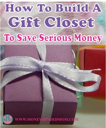 How to Build a Gift Closet To Save Serious Money ~ Building a gift closet is a great way to save money on gift giving as well as being able to afford doing so when money is tight. Read on how to build your own gift closet to save some serious money.
