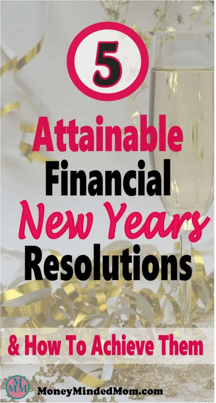 Have you set any financial goals for the new year? Do you fall flat every year and just give up? Improving your finances may seem like an impossible task but it really isn't. Read on to check out attainable financial New Years resolutions & how to achieve them to finally get on the road to financial freedom. money   goals   finance   save money   financial freedom #money #savemoney #finance #debt