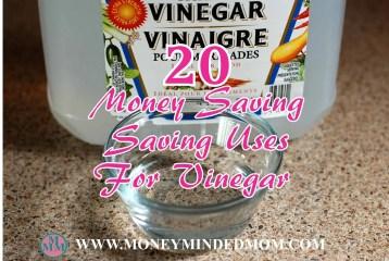 20 Money Saving Uses for Vinegar