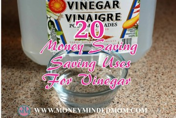 20 Money Saving Uses for Vinegar - Read on to learn all the versatile ways to use vinegar that will save you money.