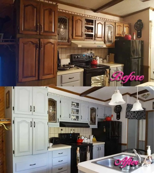 Redecorating your kitchen on a budget for Redecorating kitchen