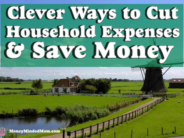 How to Cut Household Expenses and Save Money~ Household expenses like utility bills, cable and internet services, lawn care and home repairs most likely make up the biggest chunk of your monthly budget. Luckily there are things that you can do to save money and control your finances.