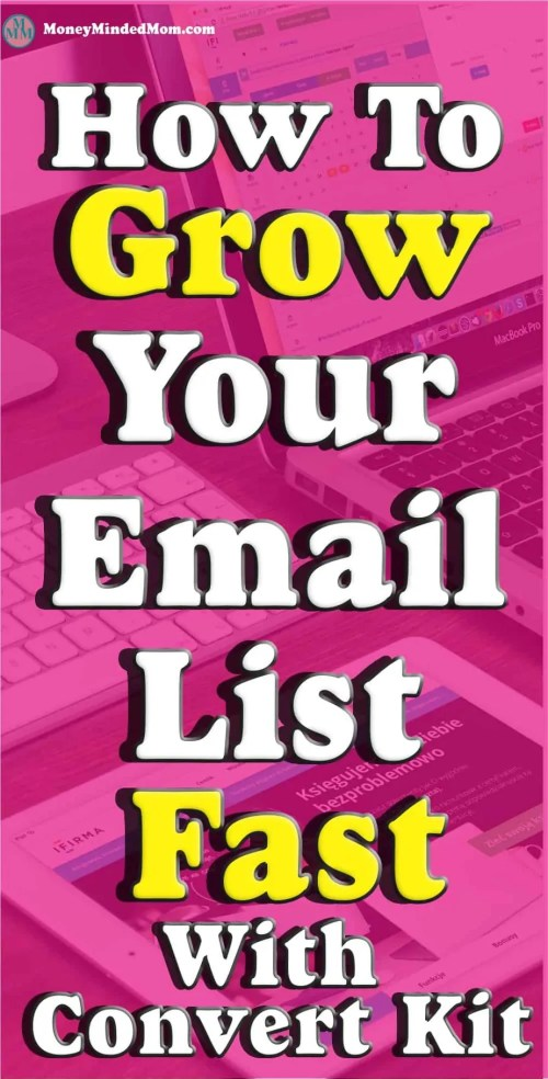 "Email Marketing ~ How to Explode Your Email List ~ I'm sure that you know that ""The Money Is In The List"" so growing your email list is a must to making money through email marketing. Read on to learn how to explode your email list with Convert Kit."