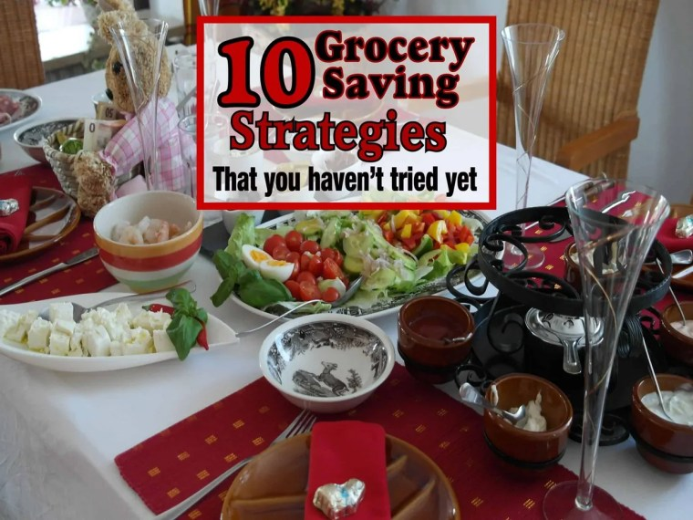 Feeding family well shouldn't have to cost a fortune. Nobody should have to choose between providing your family with nutritious meals and saving money. Read on to Learn how to do both with these 10 genius grocery saving strategies. Grocery Budget | Saving Money on Groceries | Frugal Meals | save money on food | money saving tips | saving money