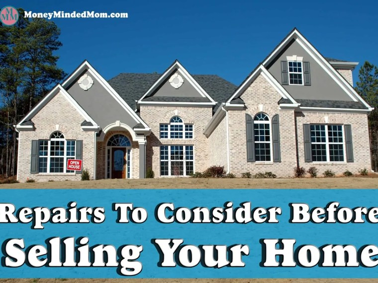 Repairs to Consider Before Selling Your Home ~ If you are getting ready to sell your home then there are some things that you can do to make it more desirable to buyers and increase your homes value. Read on to find out what you need to do before putting your home up for sale. Home Improvements | Home Repairs | Home improvements on a budget | home improvement ideas | DIY Home Improvements